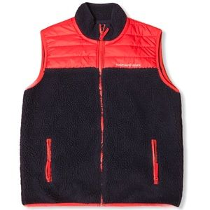 Vineyard Vines Boy's Red & Navy Vest
